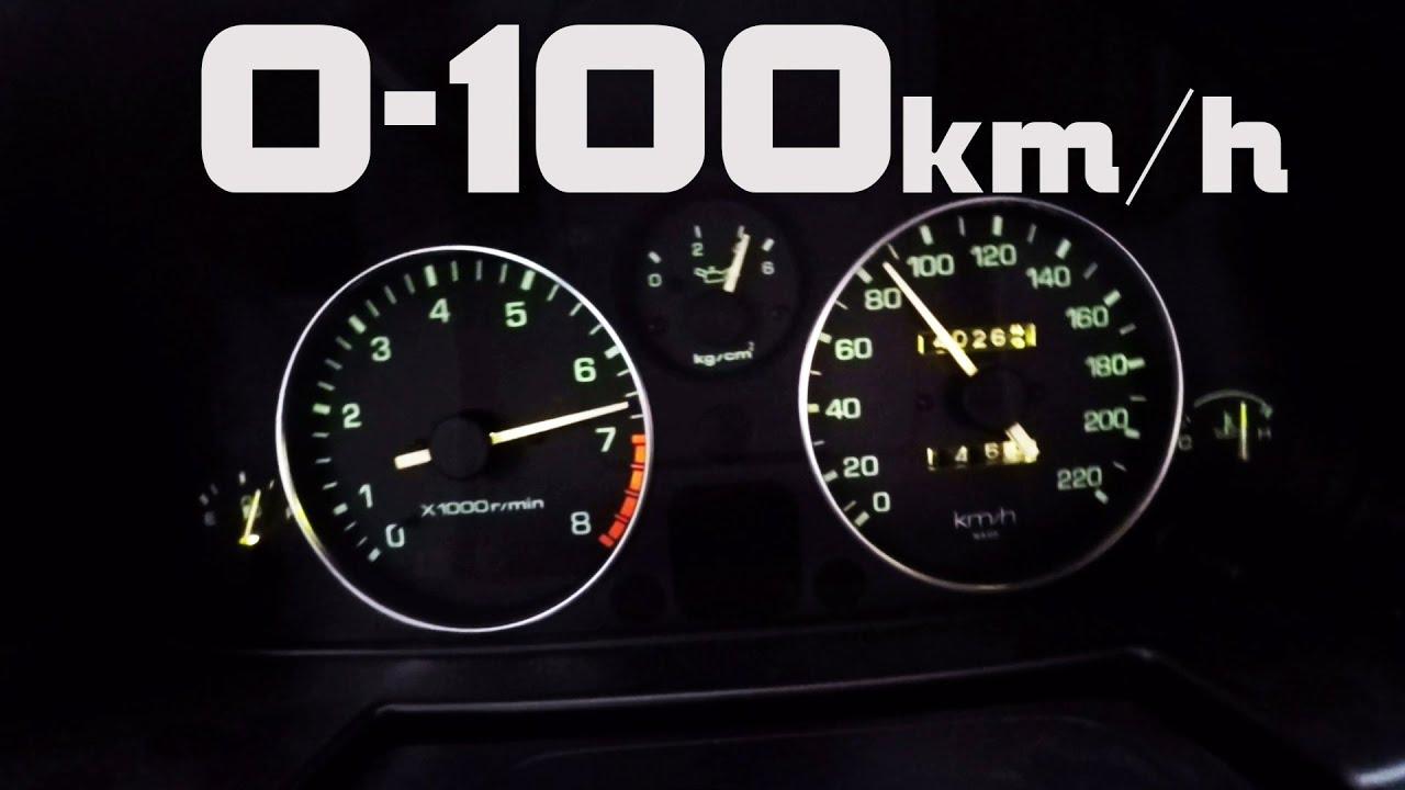 Mx 5 Miata NA 1 8 0 100 km h 0 60 acceleration
