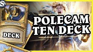 POLECAM TEN DECK - EVEN PALADIN - Hearthstone Deck Std (Witchwood)