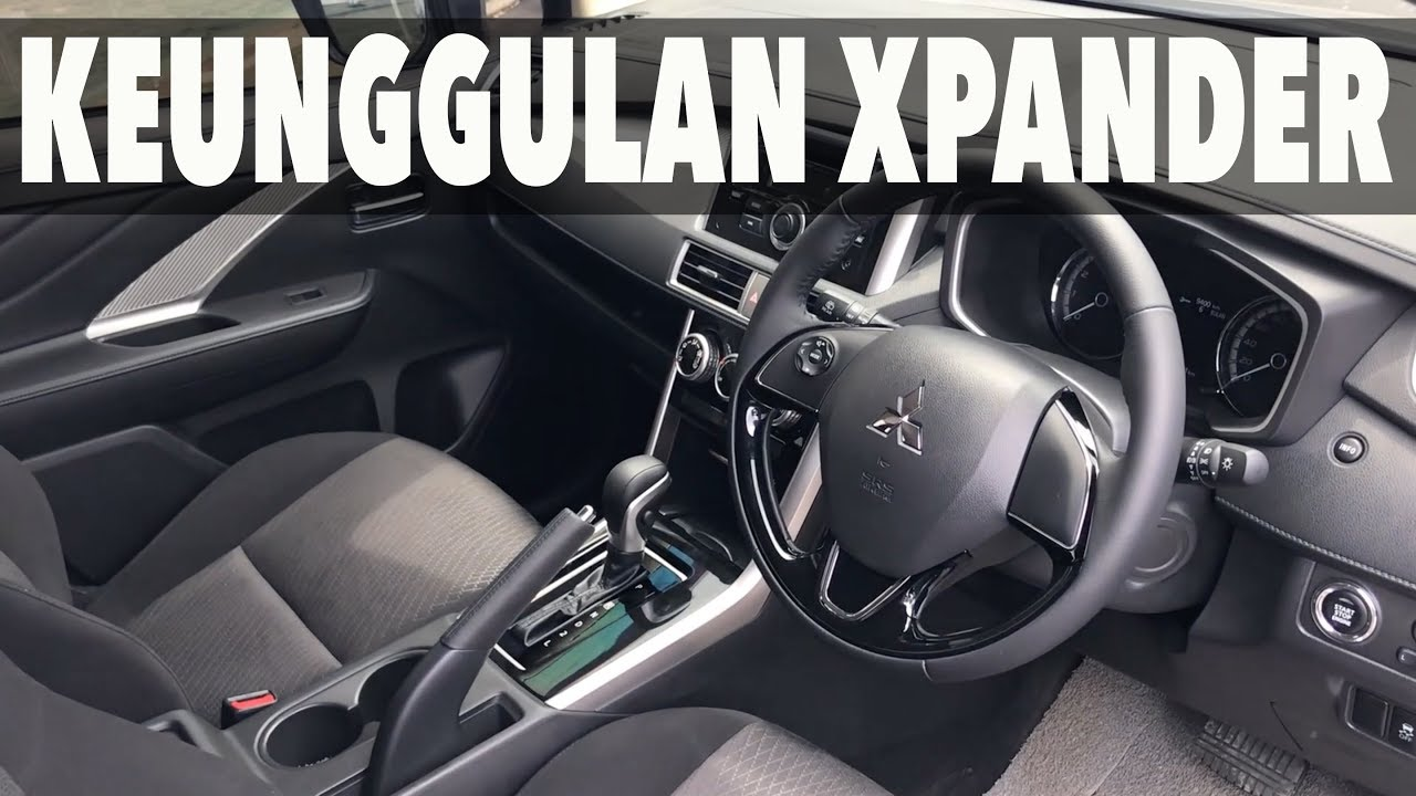 Interior XPANDER Sport KEUNGGULANNYA YouTube