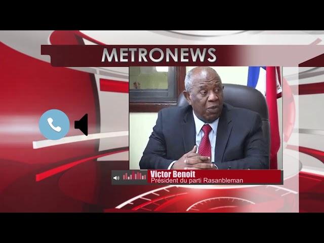 Politique : L'opposition n'est pas disposée a dialoguer avec le Président, Selon Benoit