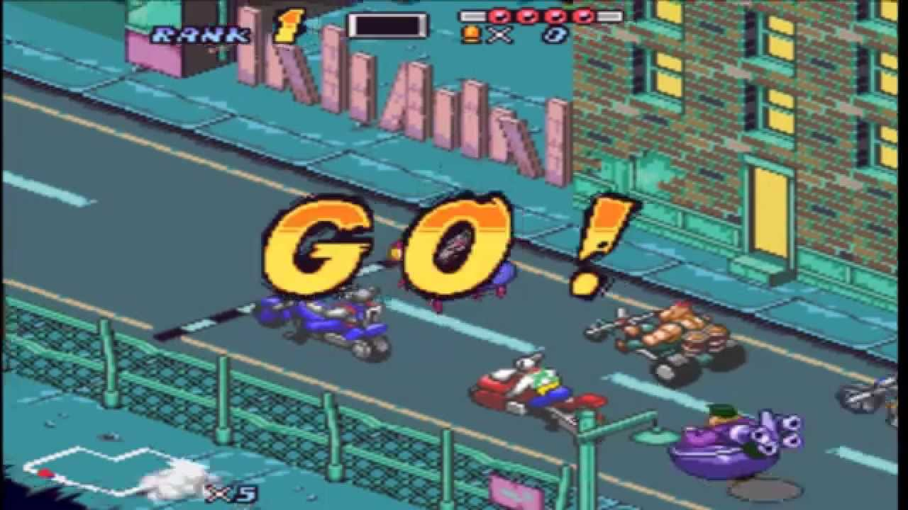 Lets Play Biker Mice From Mars(SNES): Mice,bikes and giant ...