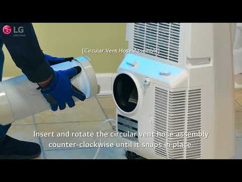 LG Portable Air Conditioner - Installation