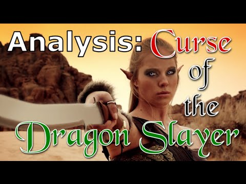 Analysis and Review: Curse of the Dragon Slayer (Fantasy B movie)