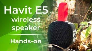 Havit E5 wireless speaker hands-on!