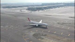 إقلاع أول طائرة من مطار اسطنبول الجديد إلى العاصمة أنقرة