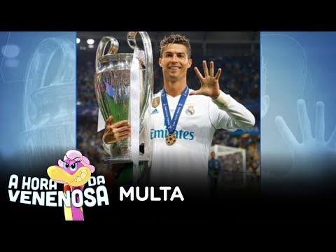 Cristiano Ronaldo paga multa de R$ 66 milhões para jogar na Juventus