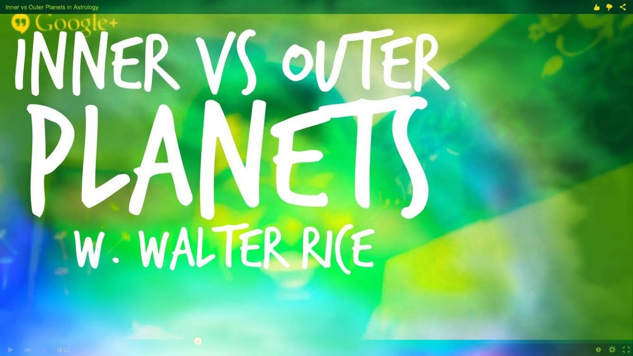 Inner vs Outer Planets in Astrology - YouTube