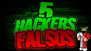 Top 5 Hackers but fake from Roblox