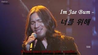 Караоке-версия Yim Jae Bum (임재범) - For you (너를 위해)