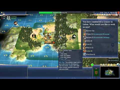 Civilization 4 Beginners Guide and Walkthrough Set 1 Part 1