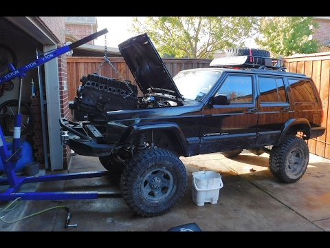 1999 Jeep Cherokee XJ 4.0 Engine and Transmission Swap Guide