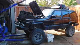 1999 jeep cherokee xj 4 0 engine and transmission swap guide