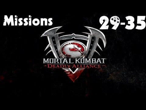 Mortal Kombat: Deadly Alliance - Konquest Walkthrough - Missions 29-35