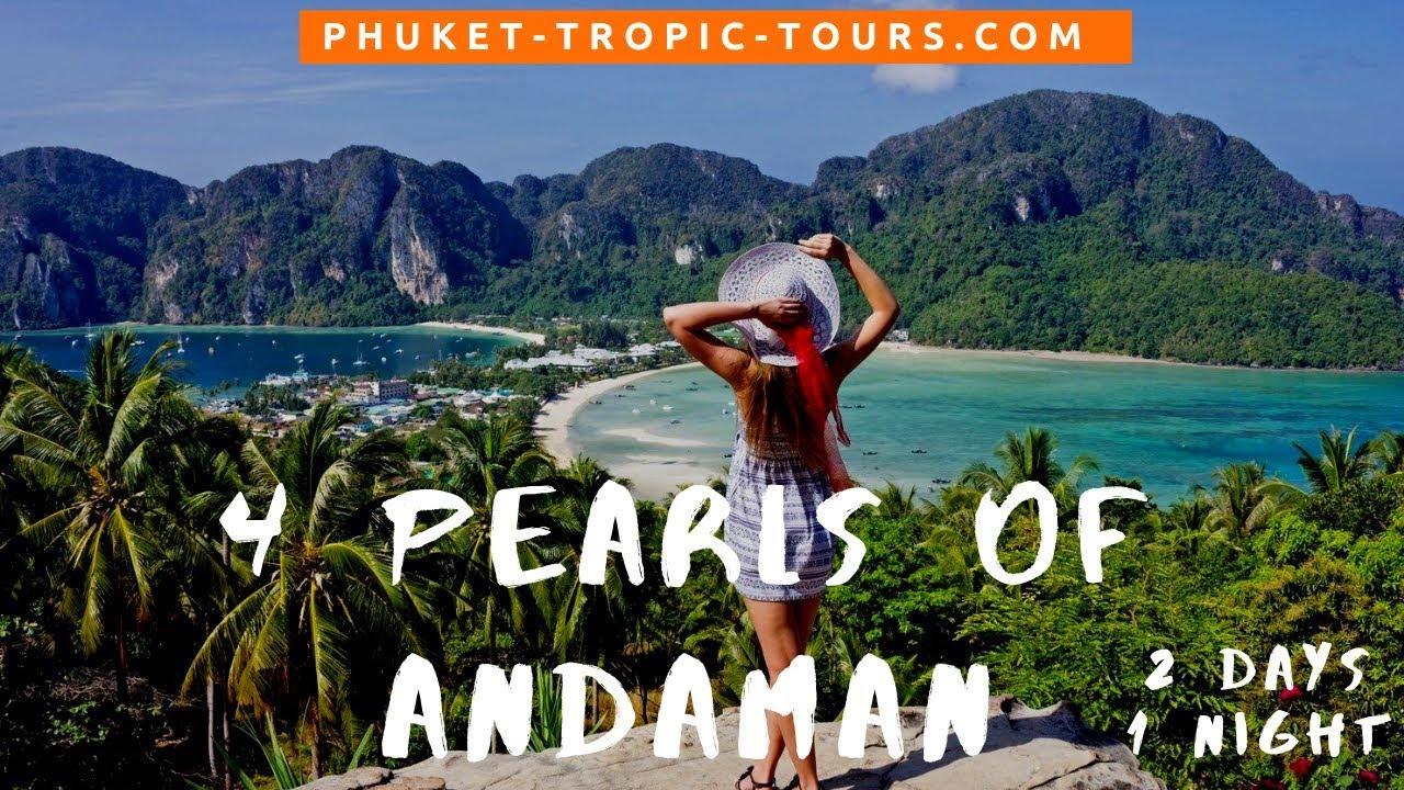 4 Pearls of Andaman 2 days 1 night tour, video overview:
