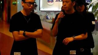10/11/2009 Malaysia Rum Boutique Reopening - Emcee Interview with Mandhand 慢行 & Ranson