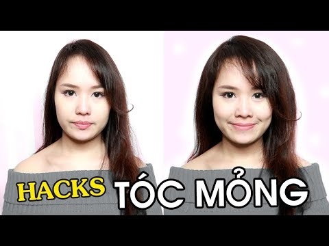 11 MẸO CHO TÓC MỎNG – Hair Hacks For Thin Hair | Ngọc Bube