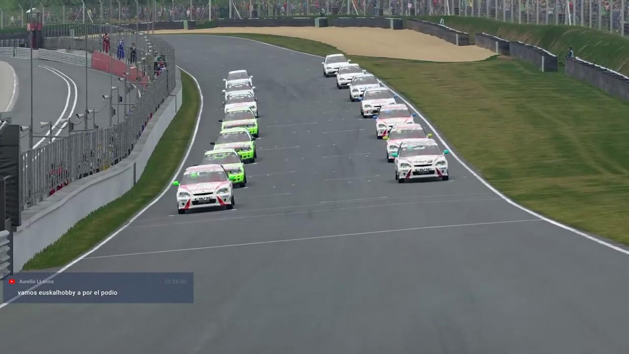Gran Turismo Sport - Iparco CIVIC CUP - Carrera 02 - Brands Hatch
