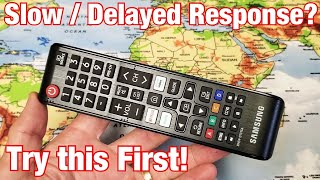 Samsung TV Remote: Laggy,  Slow or Delayed Response (Try This First 1 Minute) screenshot 4