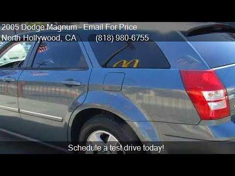 2005 dodge magnum sxt 4dr wagon for sale in north for Aztec motors north hollywood