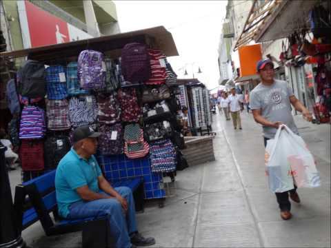 La Peatonal de Matamoros, Tamaulipas