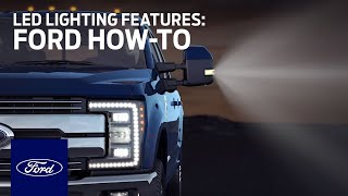 LED Lighting Features | Ford How-To | Ford thumbnail