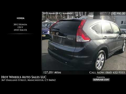 Used 2012 Honda CR-V | Hot Wheels Auto Sales LLC, Manchester, CT - SOLD