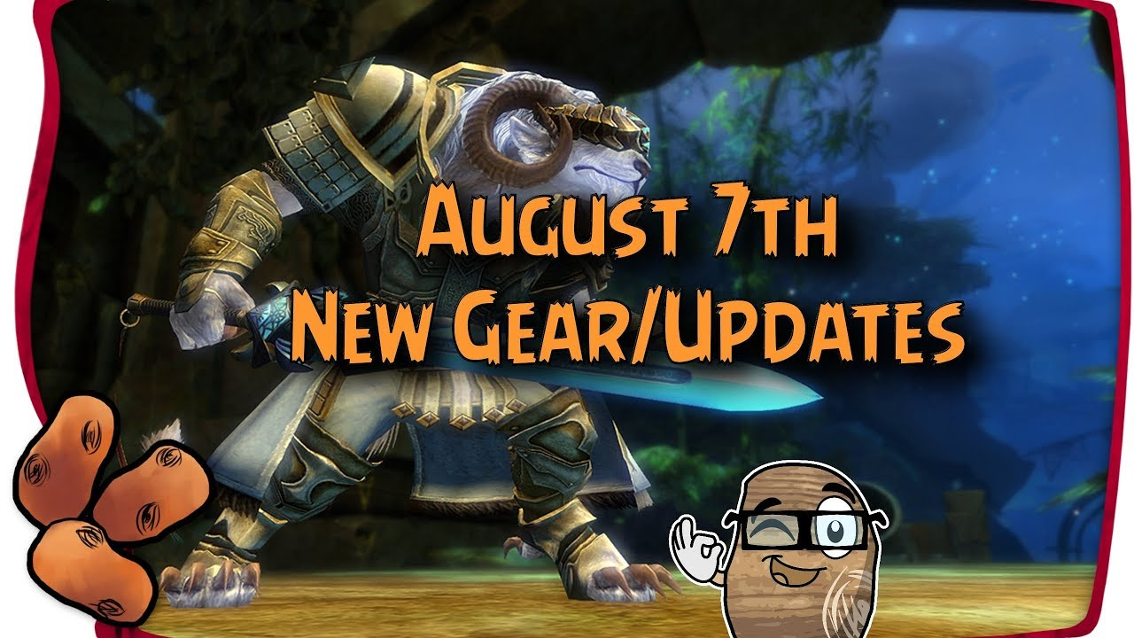 Guild Wars 2 - Design-A-Weapon Contest Gear Arrives: Eclipse, Scion's Claw  & Favor of The Collossus