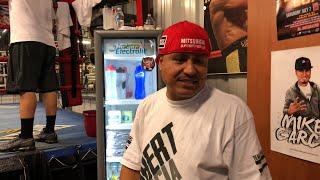Robert Garcia on Abel Sanchez comments