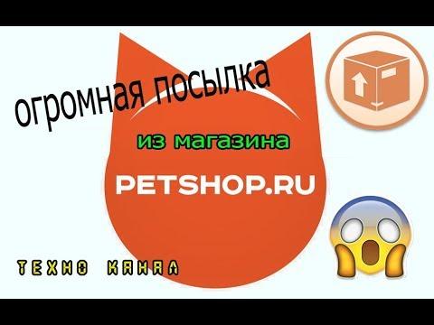 Обзор посылки с магазина Petshop.ru #техноканал
