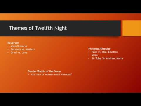 Twelfth Night Analysis