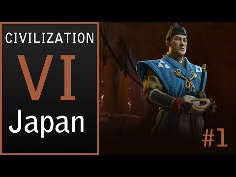 Civilization VI [NL] - Japan - De rijzende zon - Deel 1: Nieuwe serie