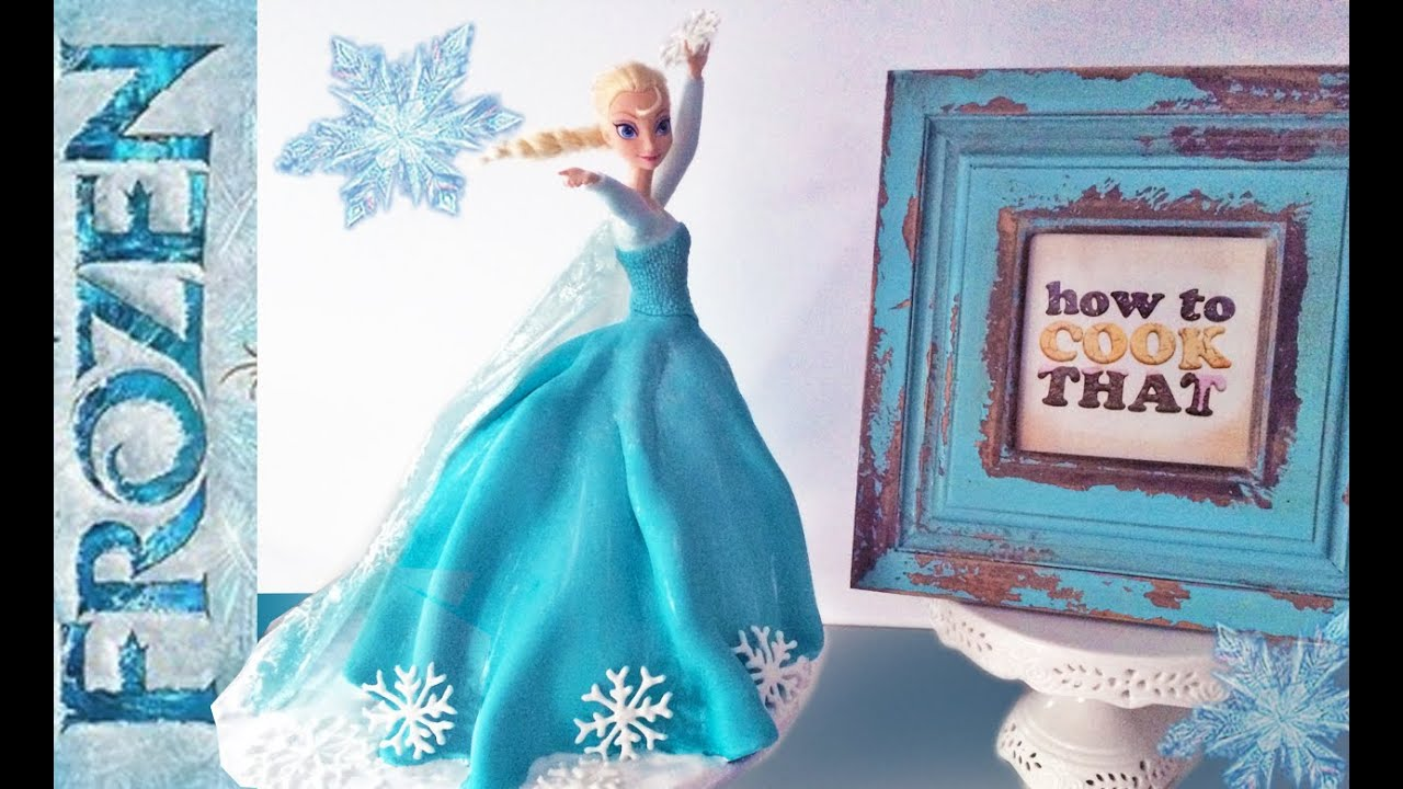 Frozen Elsa Princess Cake How To Cook That Doll Ann Reardon You