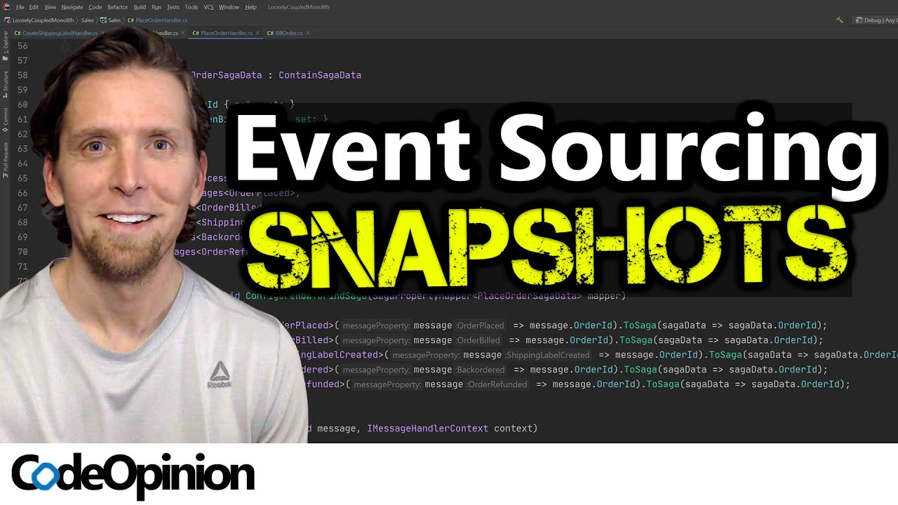 Event Sourcing: Rehydrating Aggregates with Snapshots