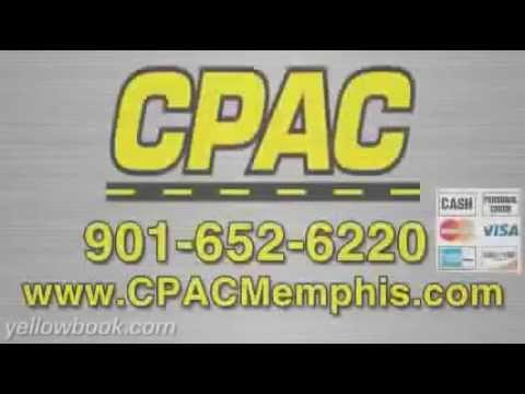 CPAC - Asphalt Paving, Memphis, Tennessee.