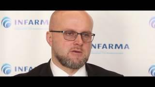 Wiceminister zdrowia Krzysztof Łanda mówi oRTR, HCC 2017