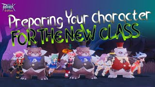 RAGNAROK ORIGIN How t๐ prepare your character for the NEW CLASS