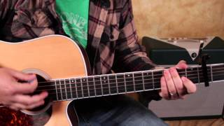 How to Play Get Lucky by Daft Punk Featuring Pharell Williams - Super Easy Acoustic Guitar Songs