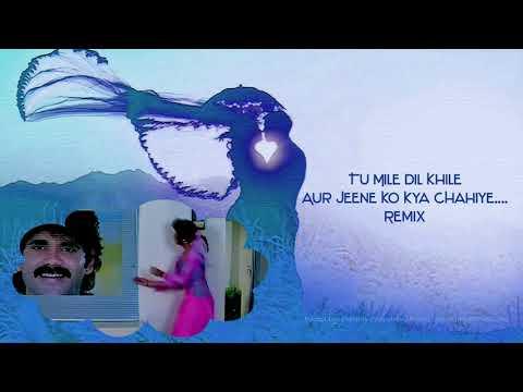 Tu Mile Dil Khile Aur Jeene Ko Kya Chahiye.... Remix