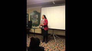 Speech Contest 2015 Pasifika Fusion - Emily Mose-Tuialii (Horowhenua College Head Girl)