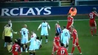 Liverpool v man u fight over nani