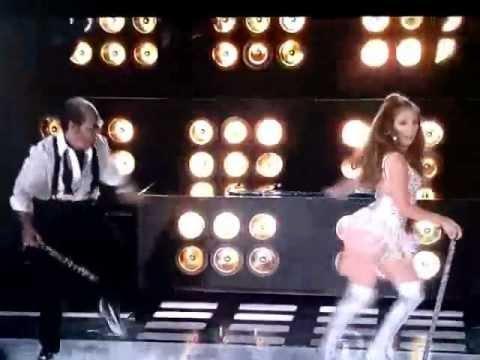 Jennifer Lopez and Tom Cruise on the MTV Awards 2010