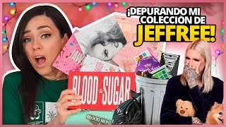 JEFFREE STAR: QUE VOY A TIRAR A LA BASURA/REGALAR/DONAR? | DEPURACIÓN DE MAQUILLAJE