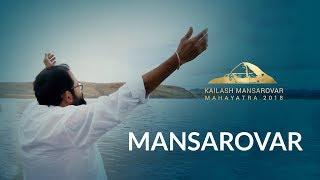 The Holy met the Holy at Lake Mansarovar as Pujya Gurudevshri arriv...