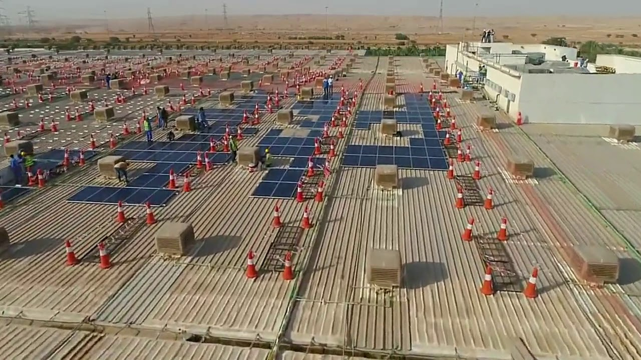 JinkoSolar Powers Al Fanar Industrial City roof top with 3 9MW of  High-efficiency modules