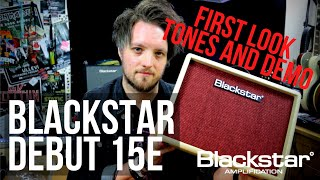 BLACKSTAR DEBUT 15E - Practise Amps Just Got A Level Up
