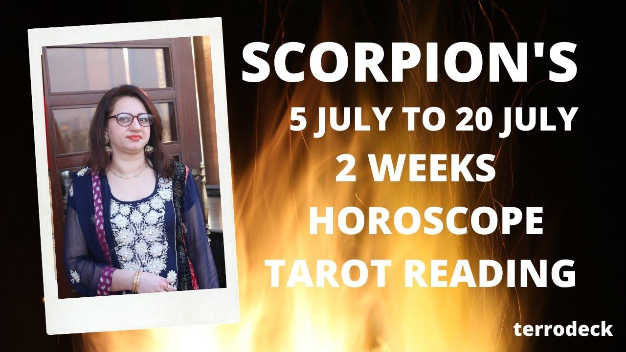 Weekly Horoscope of scorpio July 2020 in hind/urdu | 5 July to - 20 July 2020 | Weekly tarot reading