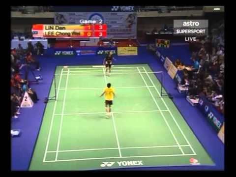 2006 Hong Kong Open MS Final Lin Dan VS Lee Chong Wei