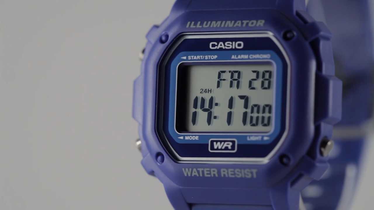 Casio Illuminator Watch Youtube
