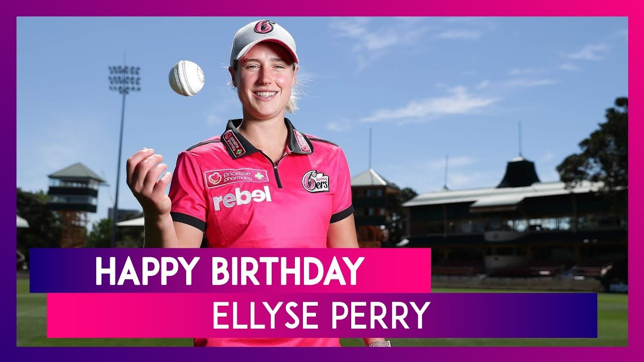 Ellyse Perry Birthday Special  Lesser Known Things About Australia's Star Cricketer