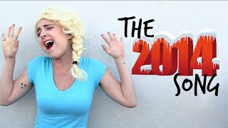 Let It Go- The 2014 Year In Review Frozen Parody